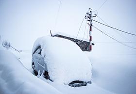 Neuschnee im Skiurlaub Gudauri, Georgien, Kaukasus | Travel Delight