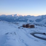 Sonnenuntergang im Gudauri Ski Resort | Travel Delight
