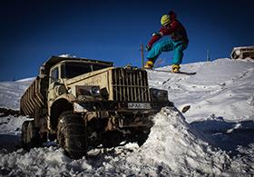 Skifahren und Snowboarden in Georgien (Kaukasus, Gudauri) | Travel Delight