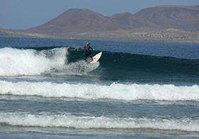 San juan surfing Lanzarote