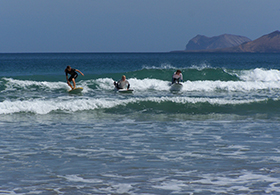 Surfing time Lanzarote