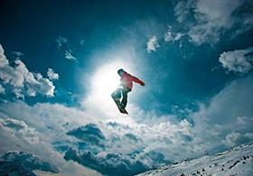 Funpark Snowboarder