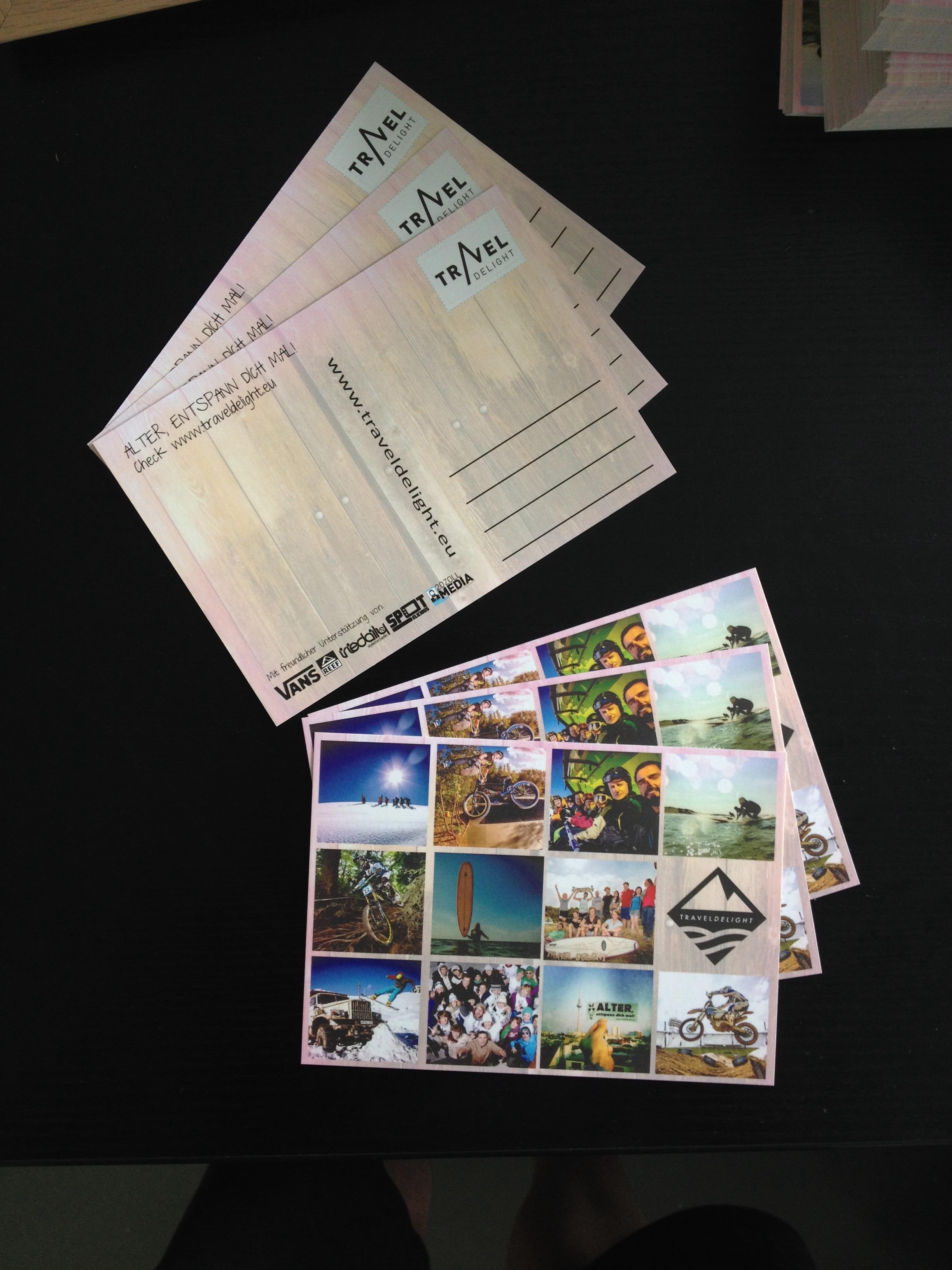 Travel Delight Postkarte