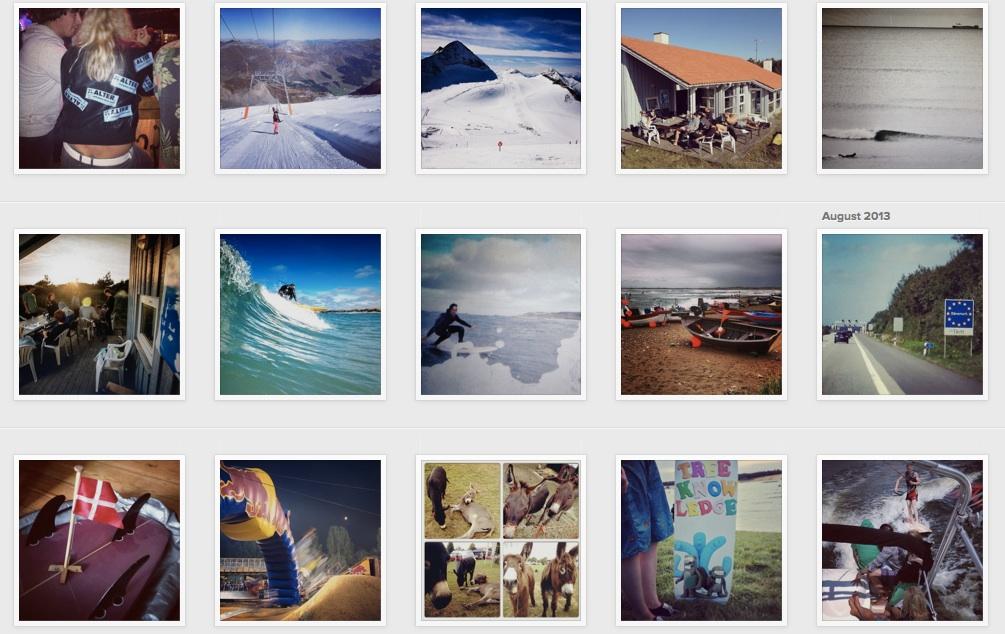 Instagram Übersicht