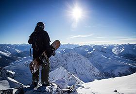 Bergpanorama genießen