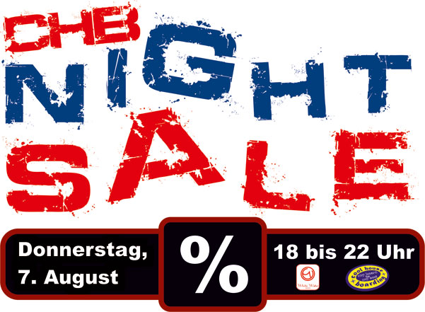 CHB + White Water Night Sale