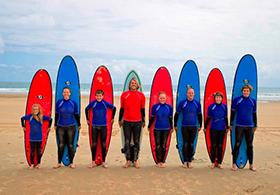 Gruppe Surfkurs 2