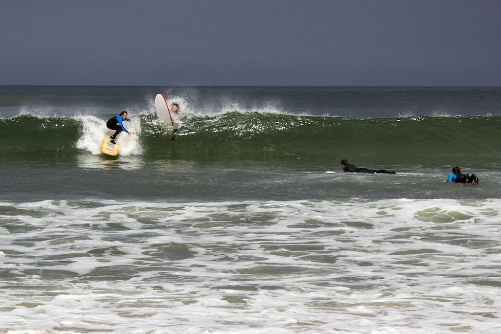 Werner zeigt wie man surft