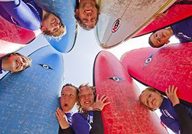 Surfkurs Spaß