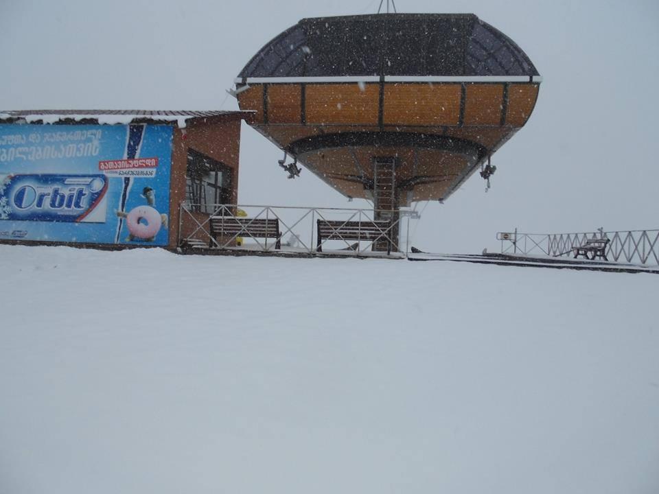 Gudauri - Erster Schnee