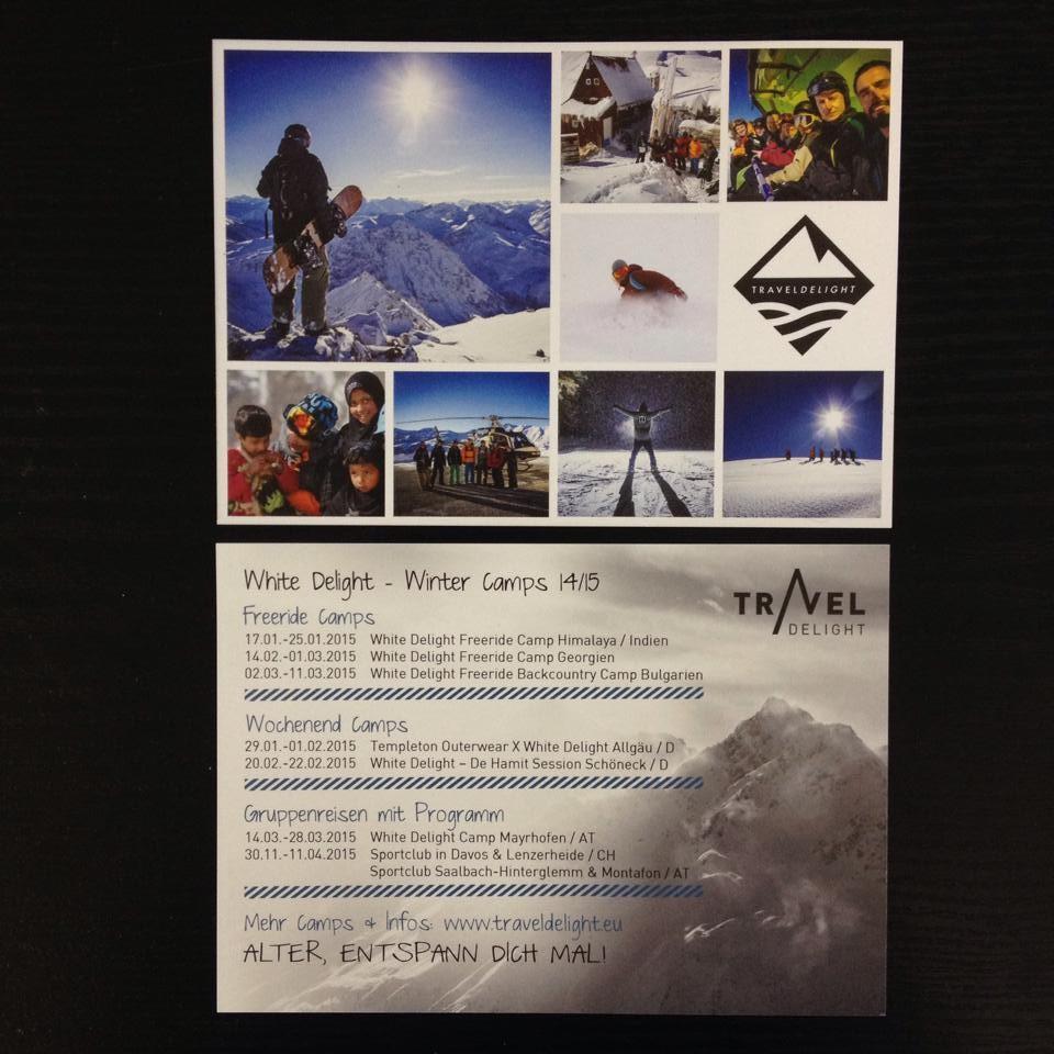 Winter Ski- und Snowboard