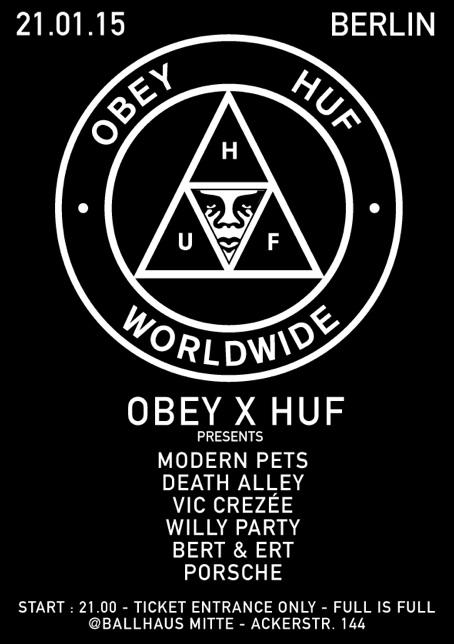 Obey X HUF