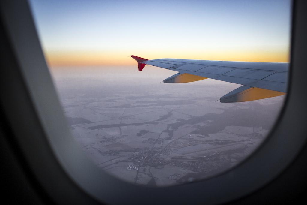 Über den Wolken ...-Istanbul-Tiflis