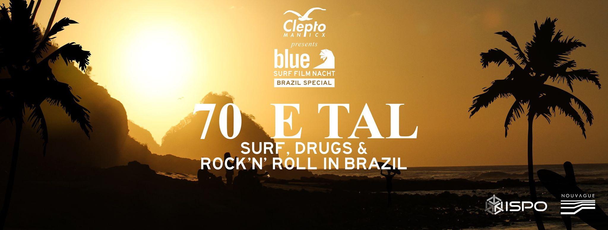Blue Surf Film Nacht