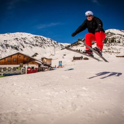 Skifahrer am Limit / Rider: Unknown