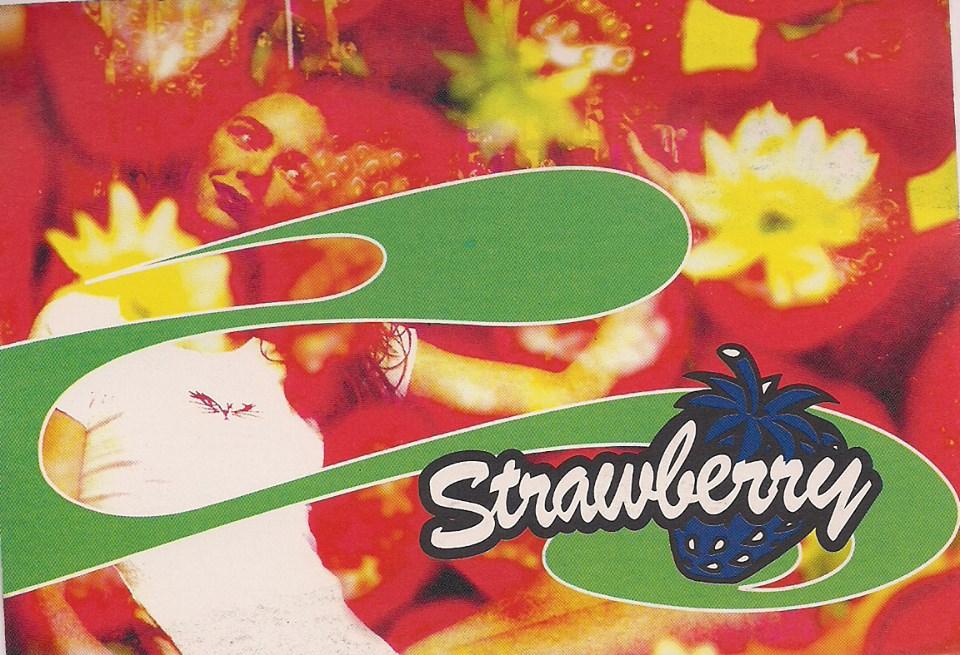 Erste Strawberry Postkarte von vor 20 Jahren!