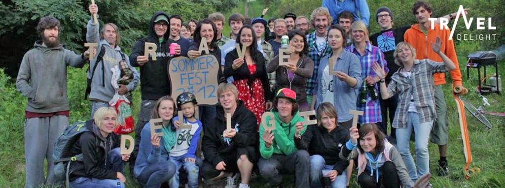 Gruppenfoto Sommerfest 2012