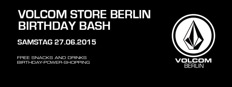 Volcom Store Berlin Birthday Bash
