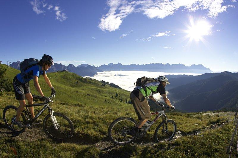 Mountainbike Touren Saalbach Hinterglemm
