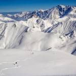 First line im Gudauri Skigebiet | Travel Delight