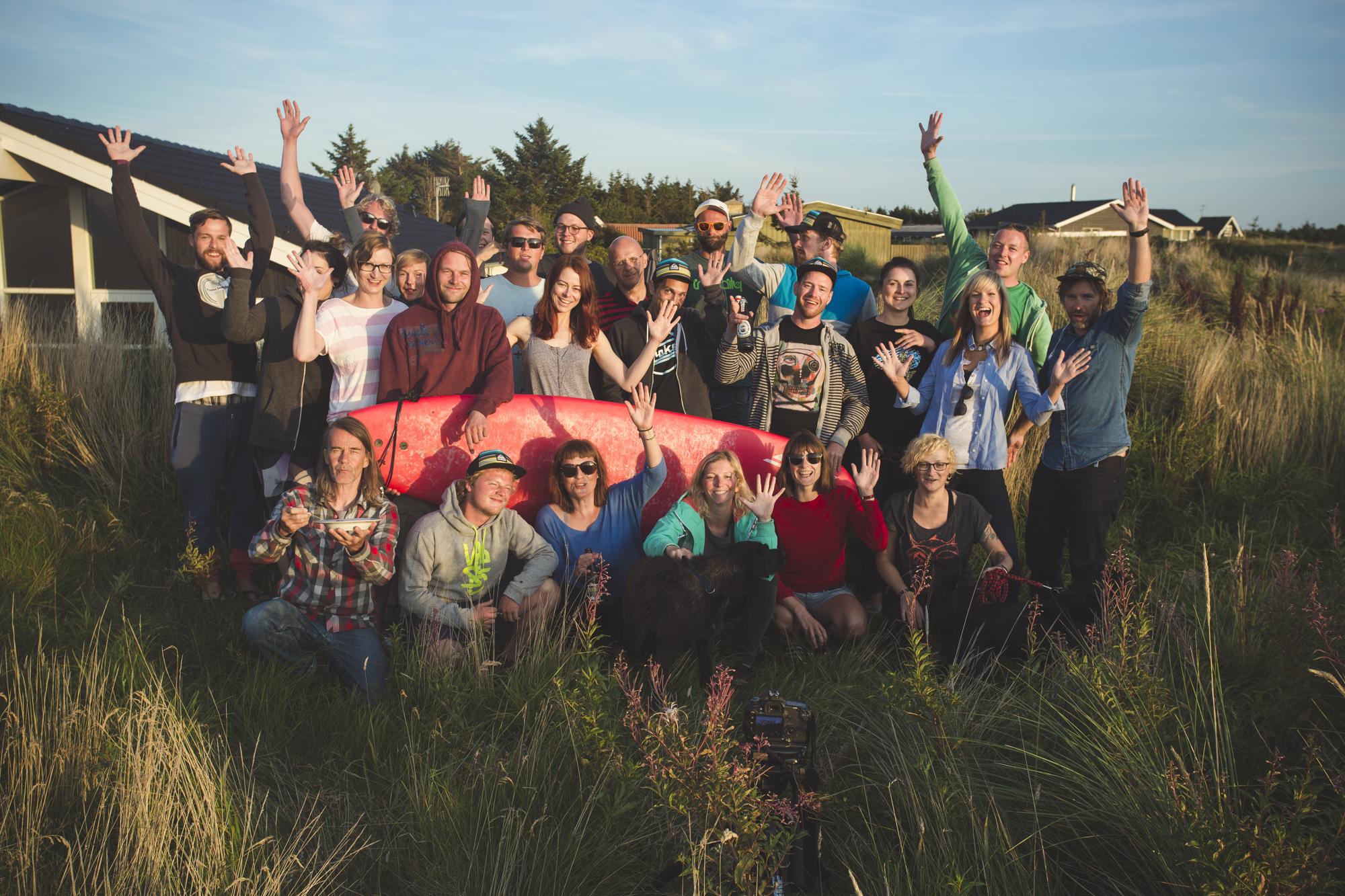 Gruppenfoto Klitmoeller