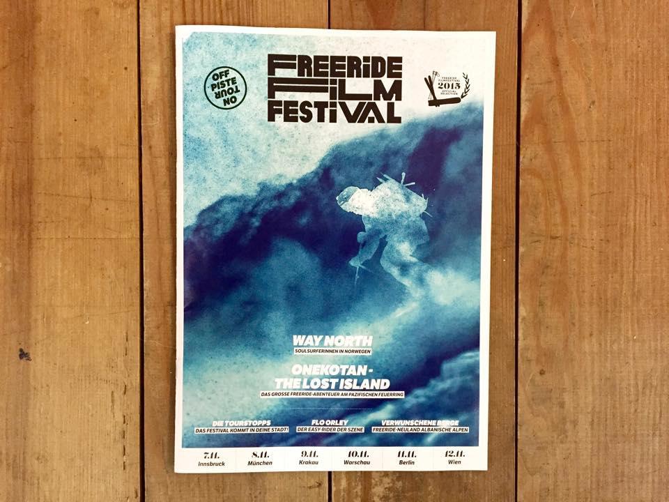 Freeride Film Festival Cover