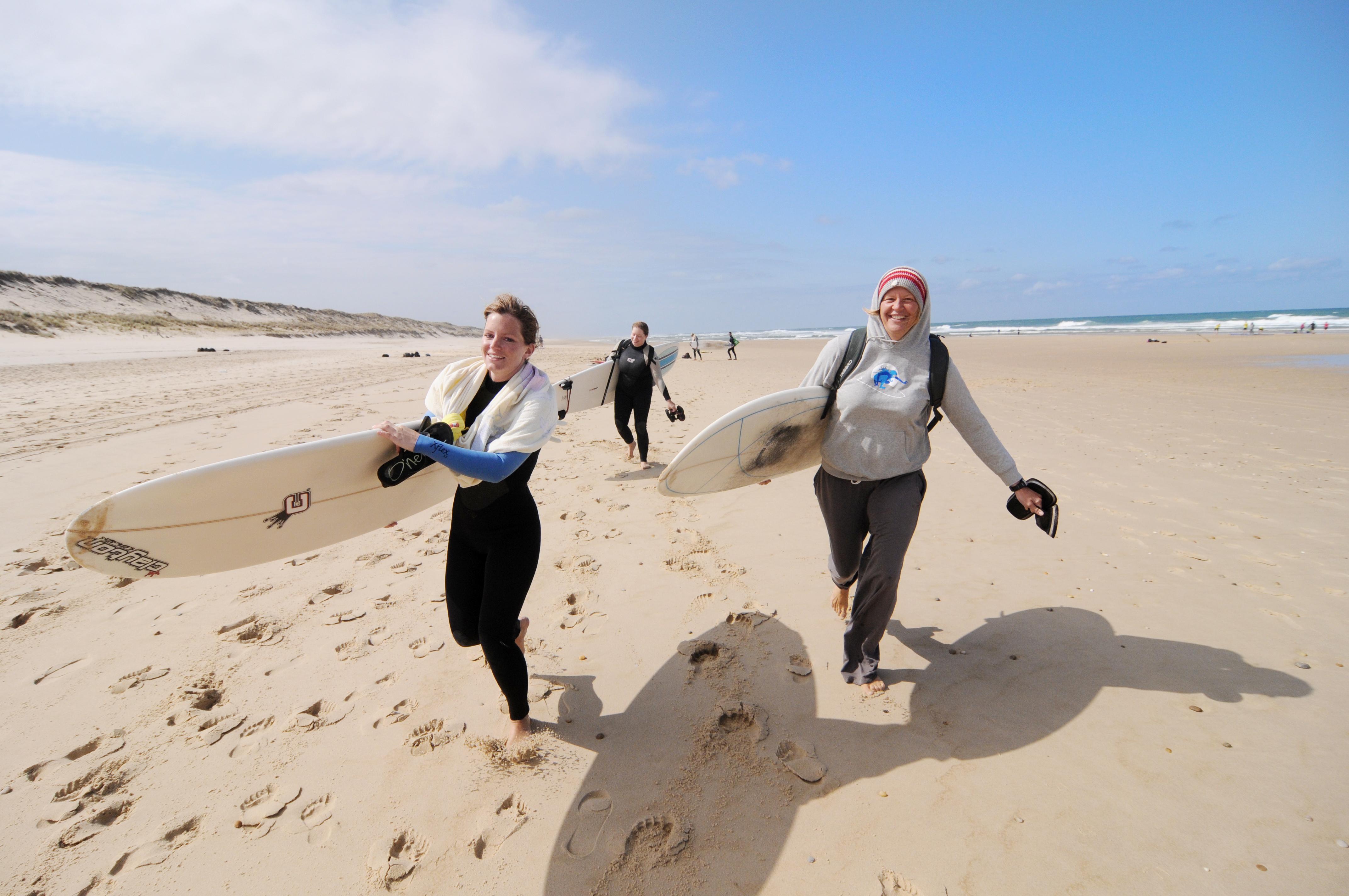 Frauen Surfcamp Frankreich