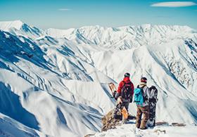 Iran Skigebiet Dizin