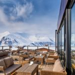 Terrasse Skiurlaub Gudauri Georgien | Travel Delight