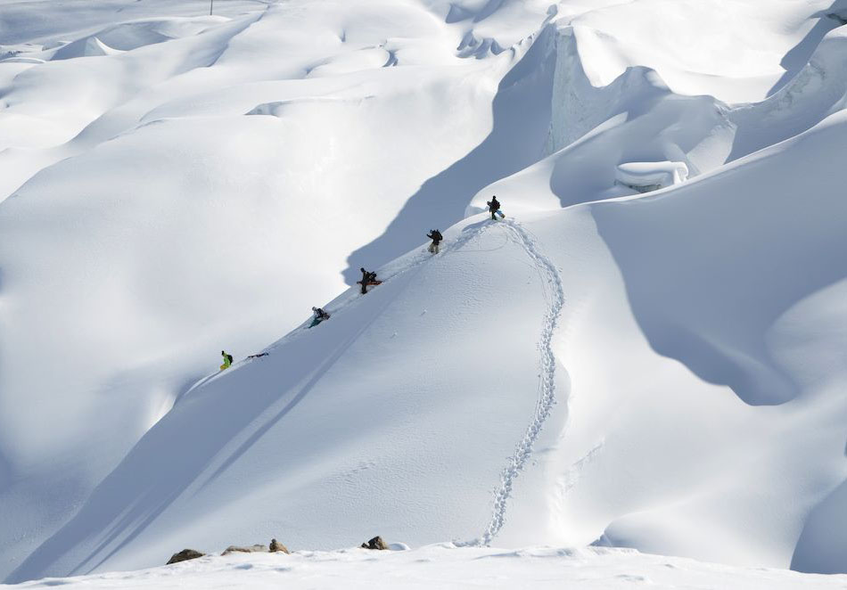 Skireise Saas-Fee Freeride | Travel Delight